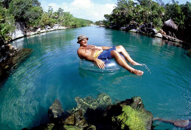 Quintana Roo, Riviera Maya, Xel Ha, River rafting - Photo by Riviera Maya